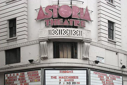 Astoria Theatre, London