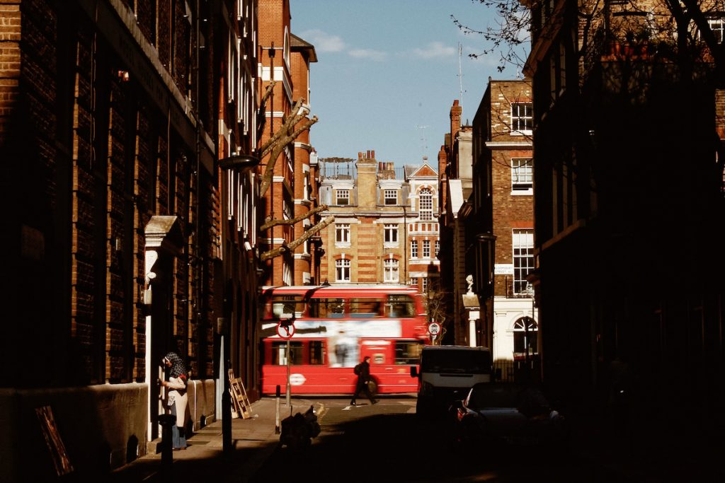 london property, bus, embrace change