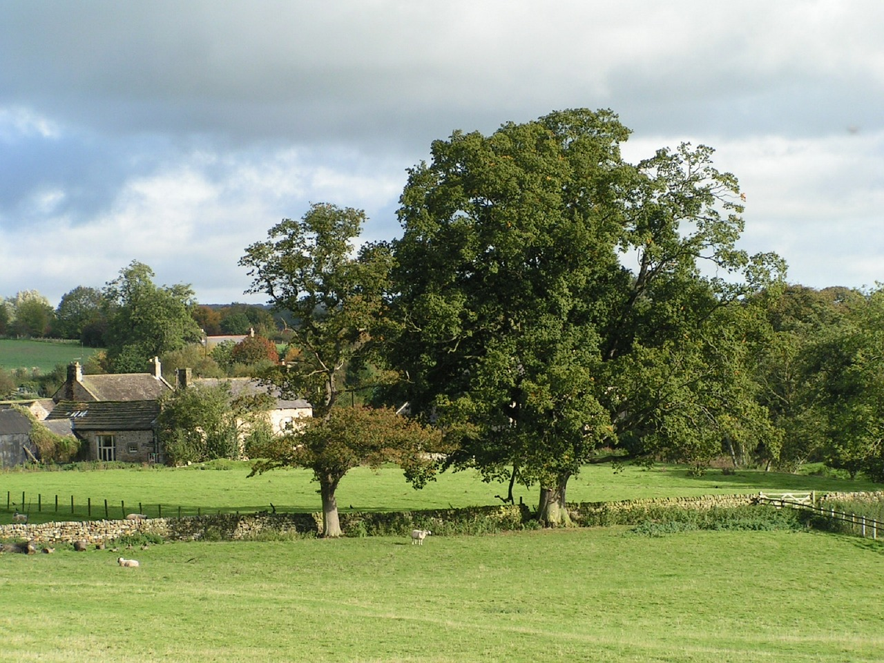 Green belt building: British countryside